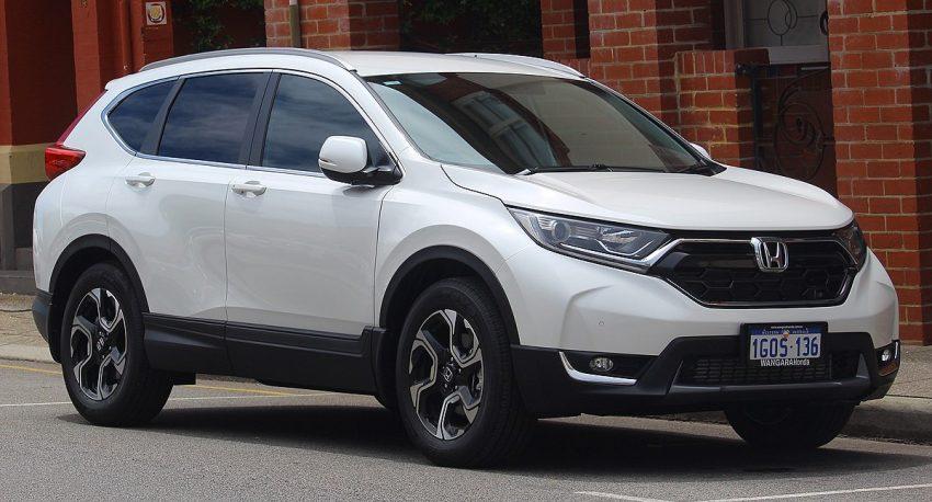 2018 Honda CR-V (RW MY18) +Sport 2WD wagon (2018-10-22) 01.jpg