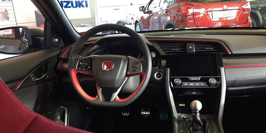 Honda Civic Cockpit und Navi Bildschirm
