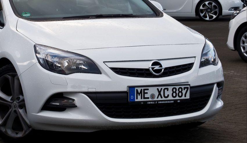 Opel Astra J Frontscheinwerfer Halogen