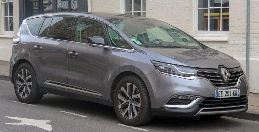Seitenansicht eines Renault Espace 5. Generation