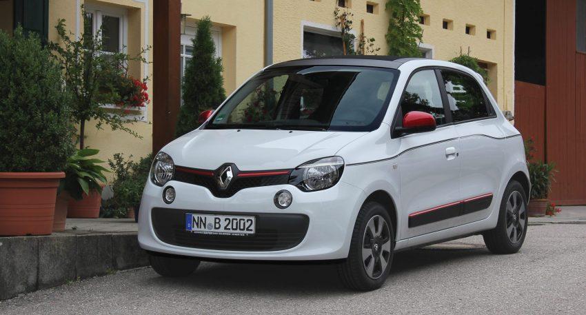 Frontansicht Renault Twingo 3. Generation