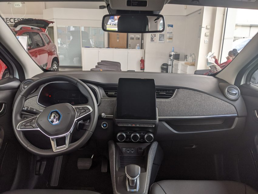 Ansicht Renault Zoe Interior