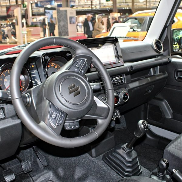 Navigationssystem eines Suzuki JImny