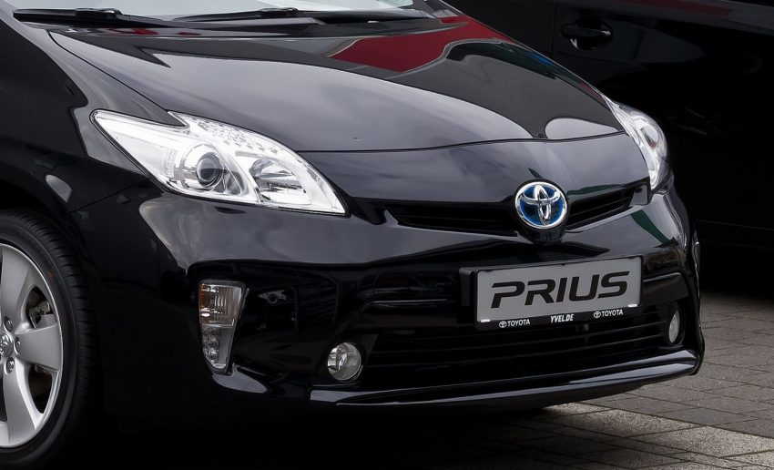 Toyota Prius Frontscheinwerfer Abblendlicht