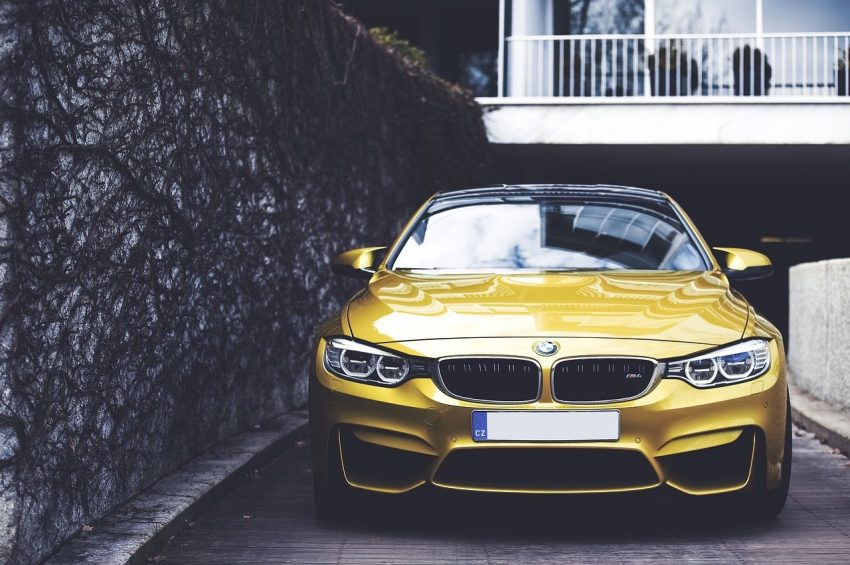BMW 4er M Version Frontansicht