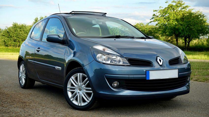 Clio Renault Frontansicht