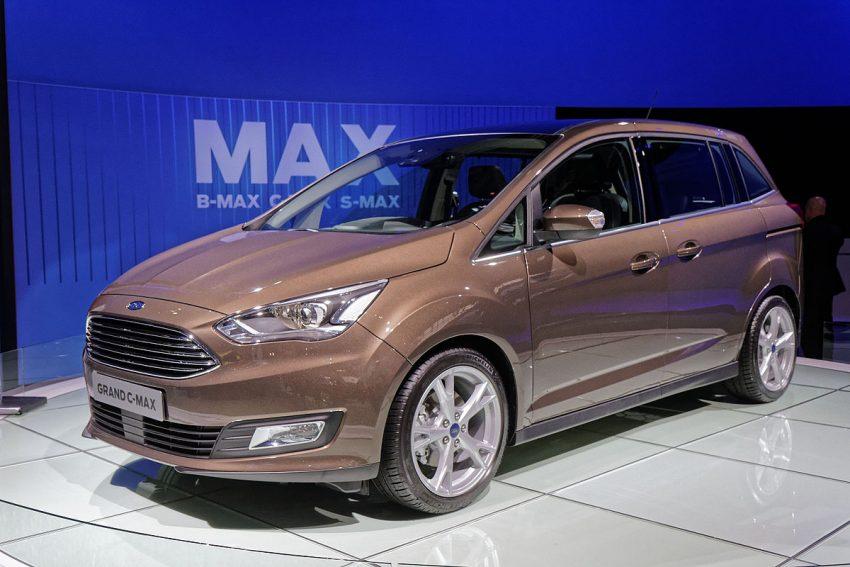 Ford grand C-MAX - Mondial de l'Automobile de Paris 2014 - 003.jpg