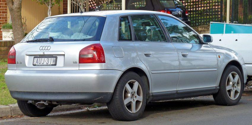 Audi A3 8L Heckansicht