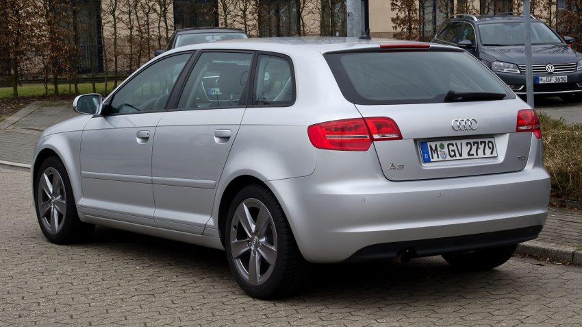 Audi A3 Modell 8P als Facelift