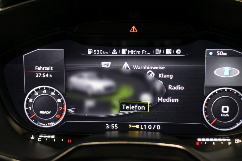 Audi Virtual Cockpit MMI