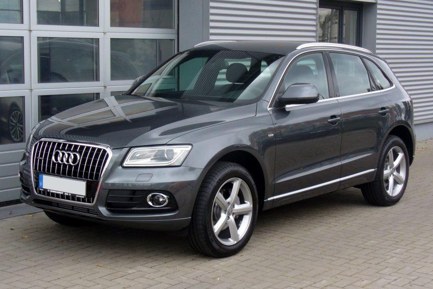 Audi Q5 8R Facelift Version