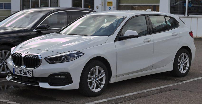 BMW 1er Modell F40 weiss Seitenansicht