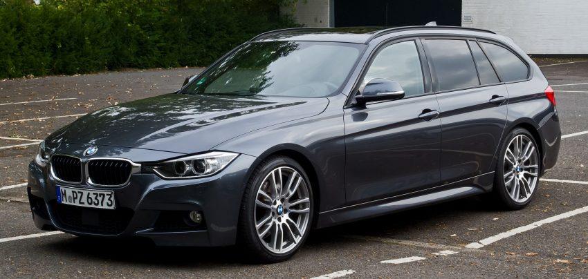 BMW 3er F30 Touring Seitenansicht