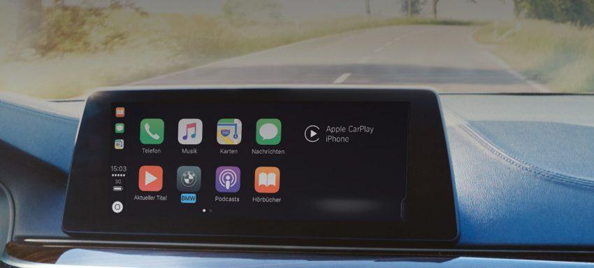 BMW CarPlay verbinden