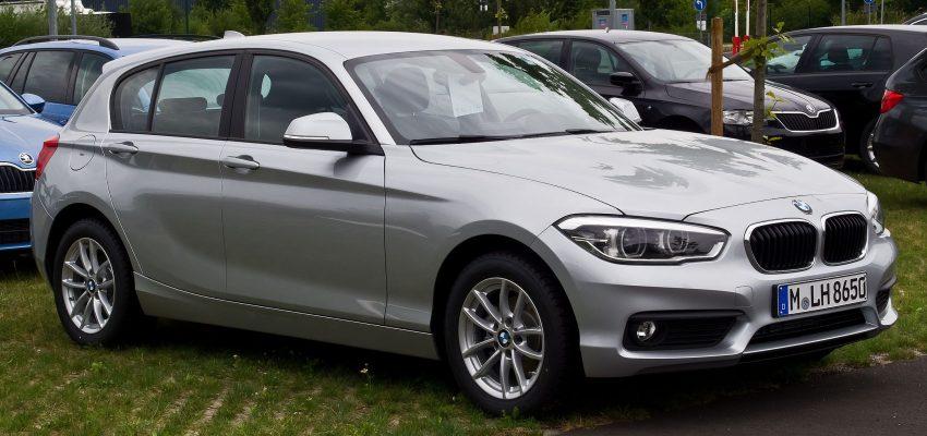 BMW 1er 116i F20 Facelift Seitenansicht
