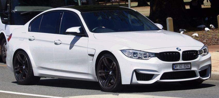 BMW M3 F80 weiß