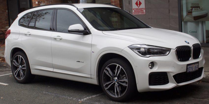 BMW X1 F48 in weiß