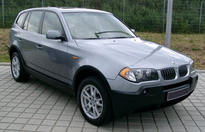 BMW X3 Front / Seitenansicht