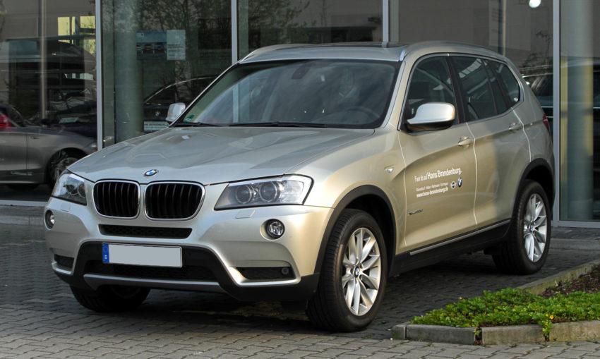 BMW X3 F25 Frontansicht
