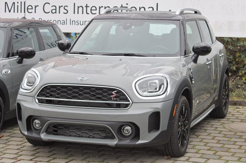 Frontansicht Mini Countryman Facelift 2020