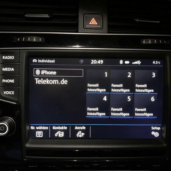 VW Display Bluetooth verbinden