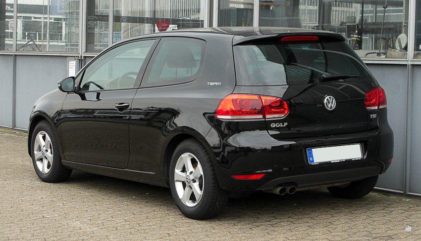 VW Golf 1.4 TSI Team (VI) – Heckansicht, 26. März 2011, Ratingen.jpg