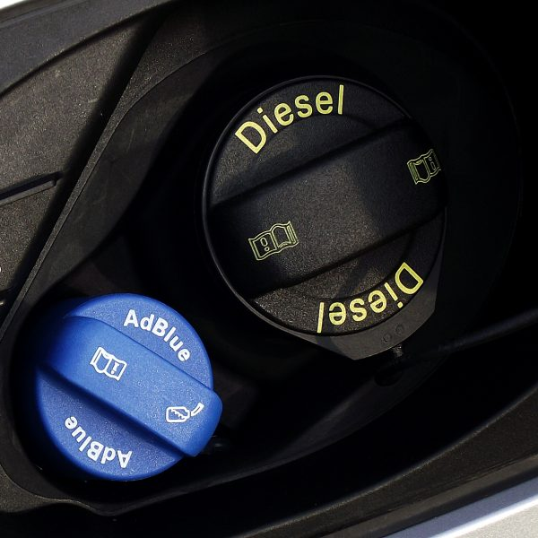 AdBlue Tank eines TDI Fahrzeugs