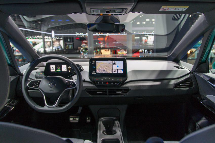 Cockpit-Ansicht Interior des VW ID.3