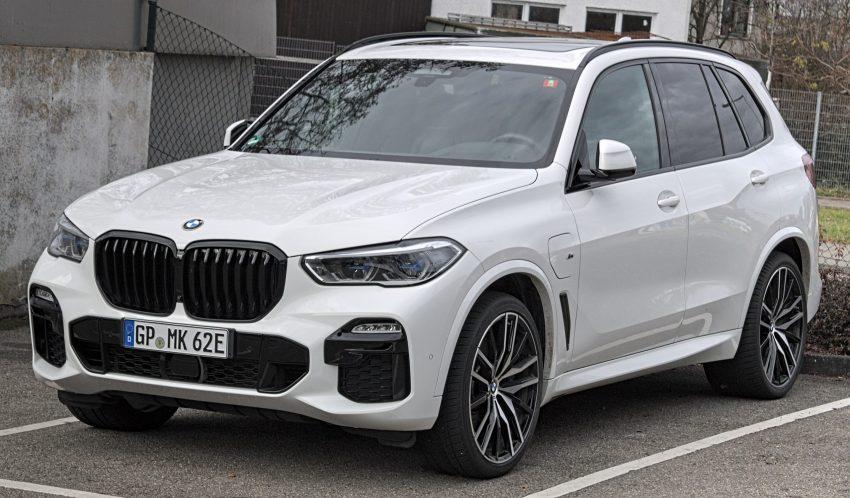 BMW X5 G05 weiss Frontansicht