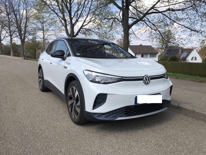 VW ID.4 in der Frontansicht