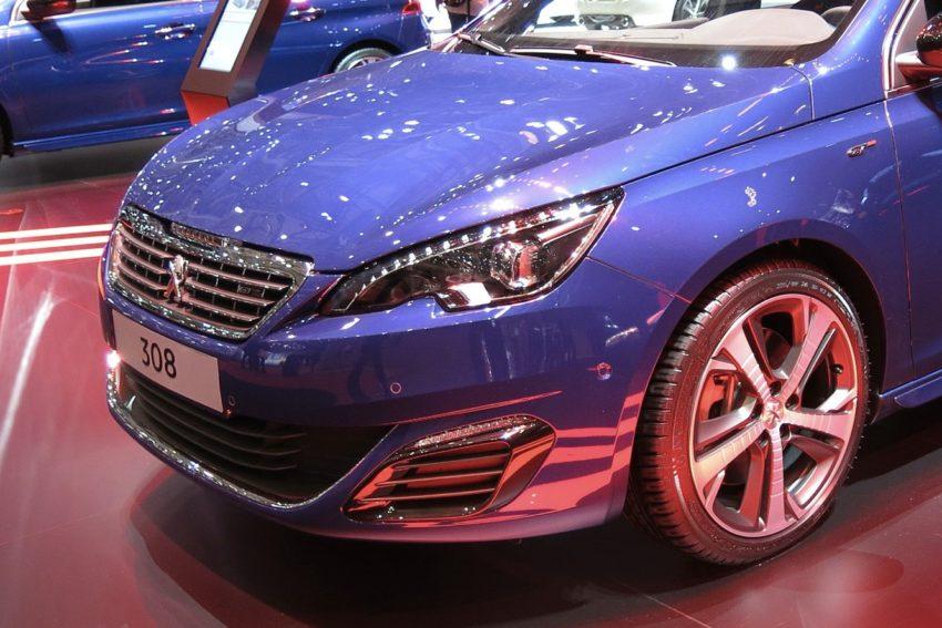 Peugeot 308 Scheinwerfer Abblendlicht