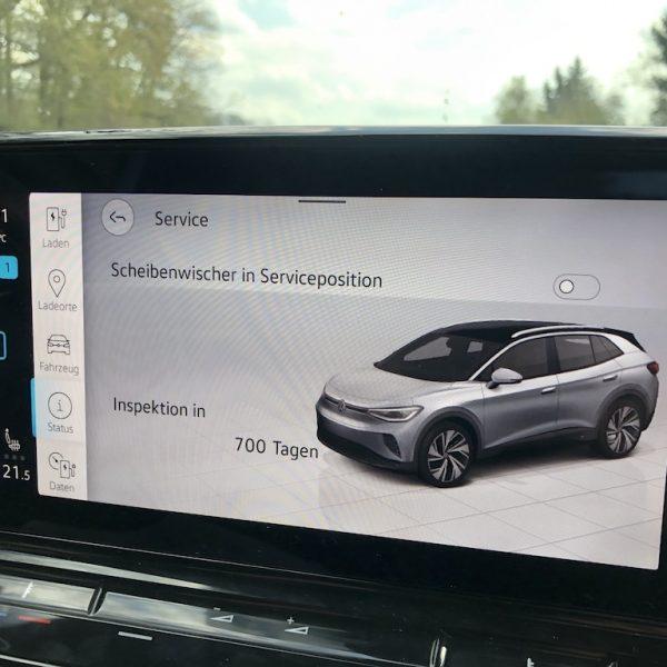 VW ID.4 Anzeige-Serviceintervall