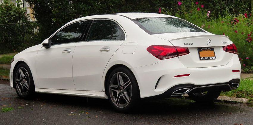 2019 Mercedes-Benz A220, rear 8.22.19.jpg