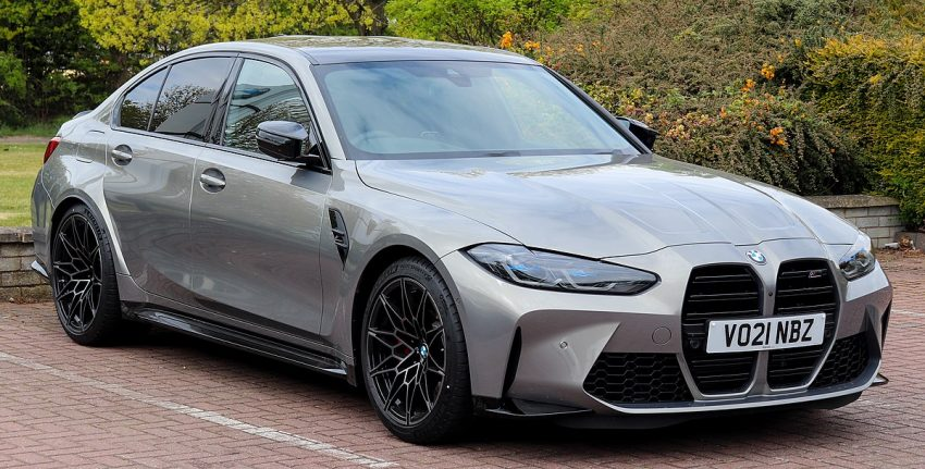 2021 BMW M3 Competition Automatic 3.0 Front.jpg