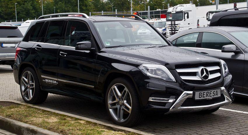 Mercedes-Benz GLK 250 4MATIC Sport-Paket AMG (X 204, Facelift) – Frontansicht, 8. September 2013, Bösensell.jpg