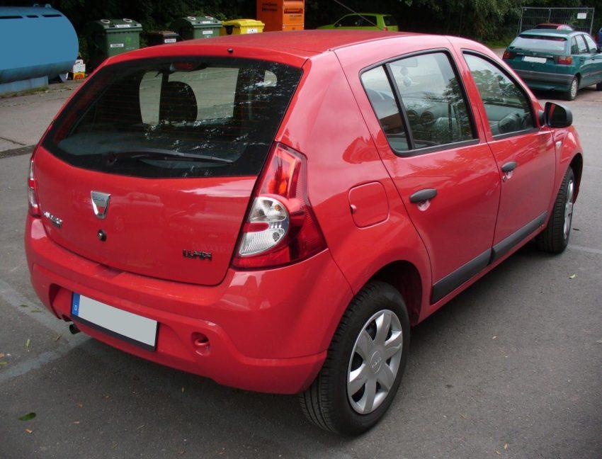 Dacia Sandero Generation 1 rot