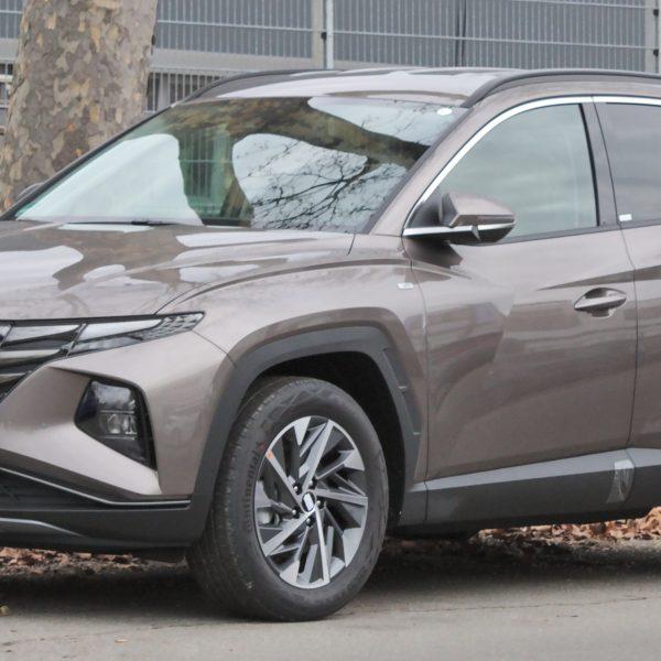 Frontansicht des Hyundai Tucson NX4