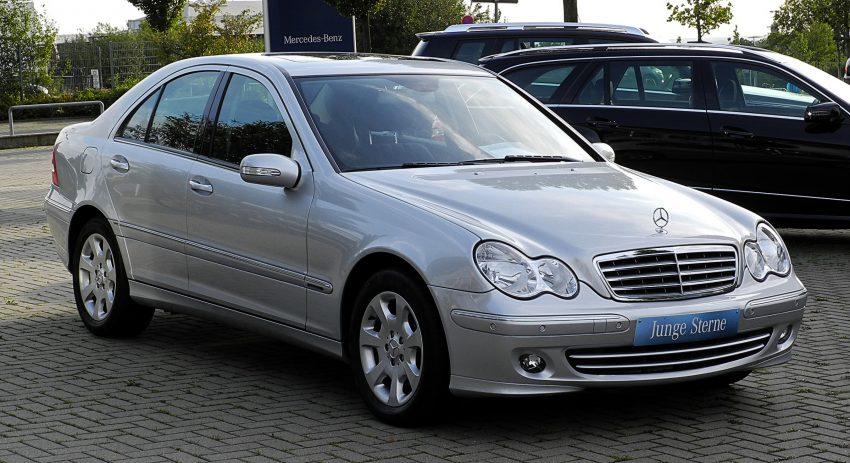 Mercedes C Klasse W203 Limousine Seitenansicht