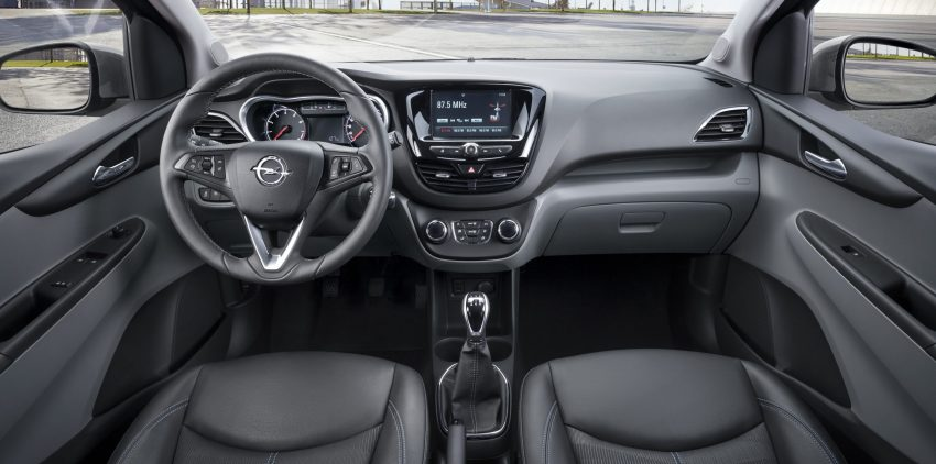 Opel Karl IntelliLink Cockpit