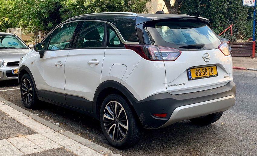 Opel Crossland X 2017 Haifa Rear.jpg