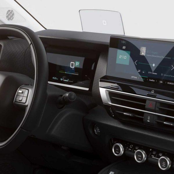 Citroen C4 Infotainment Display