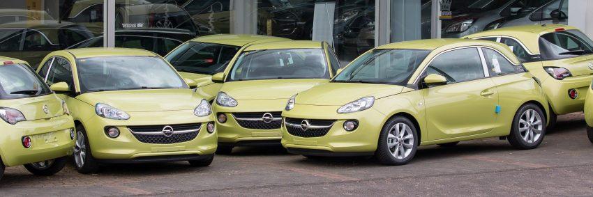 Opel Adam Fahrzeuge