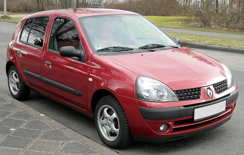 Renault Clio II rot