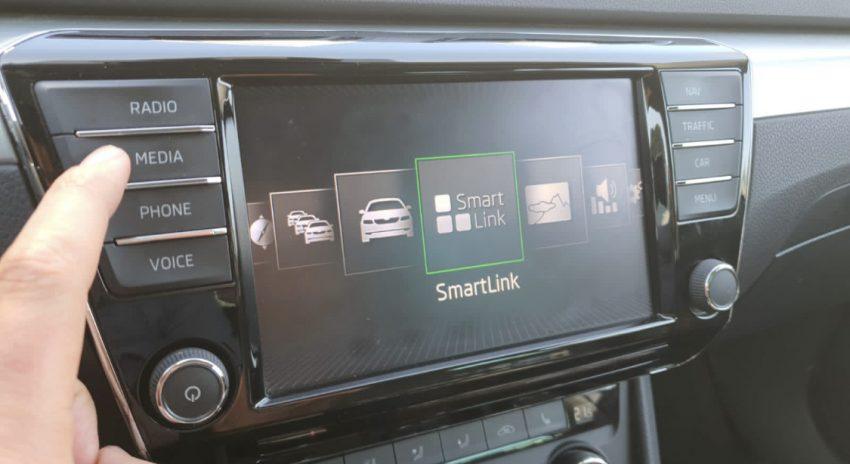 Skoda SmartLink Touchscreen