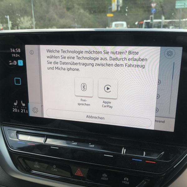 VW Display Apple Carplay verbinden
