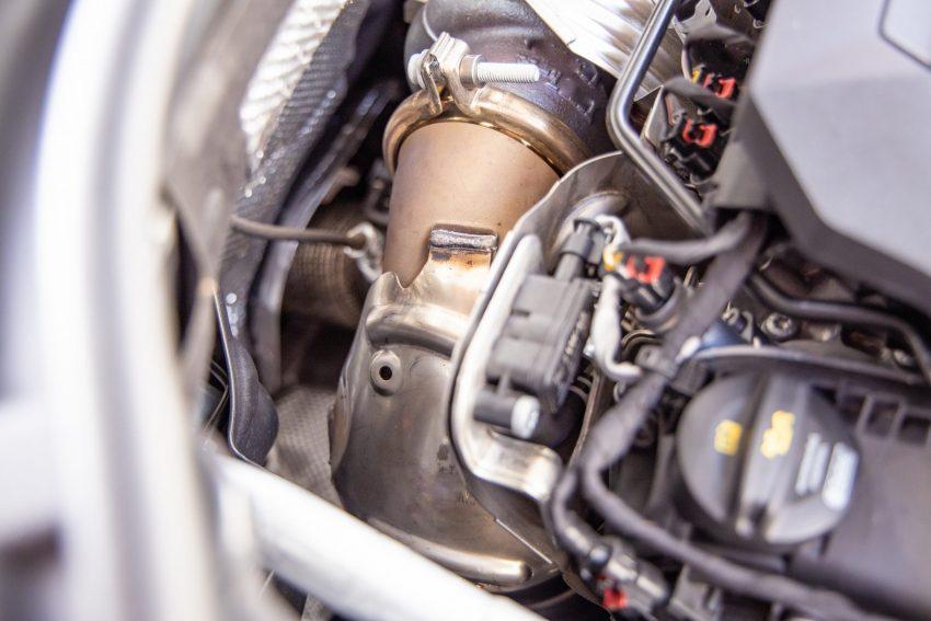 VW Polo Motoröl nachfüllen Öldeckel