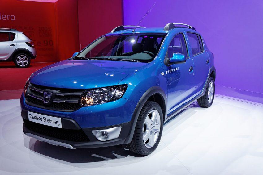 Dacia - Sandero Stepway - Mondial de l'Automobile de Paris 2012 - 005.jpg