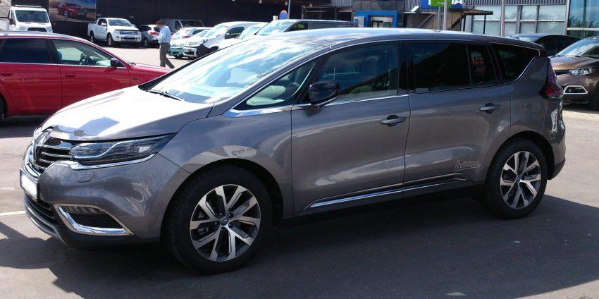Renault Espace V Seite
