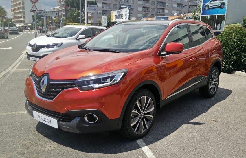 Renault Kadjar Seitenansicht orange