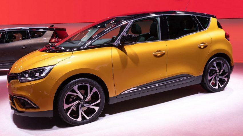 Renault Scenic IV Seitenansicht